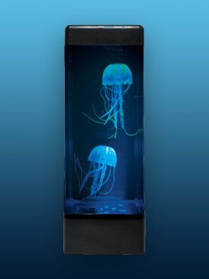 Jellyfish lava lamp Dark Blue